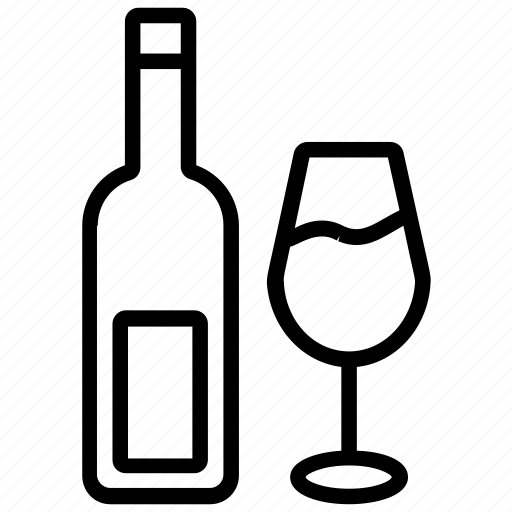 alcohol, beer, brew, whiskey, wine icon