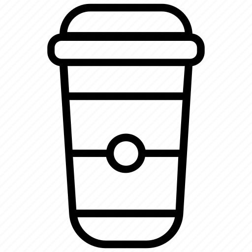 beverage, coffee, coffee container, disposable coffee, hot coffee icon
