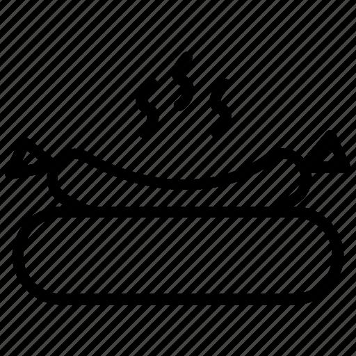 fast food, gril food, hot dog, junk food, sausage icon
