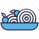 chinese, eating, food, noodles, plate icon