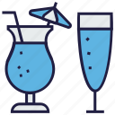 drink, food, lemonade, orange juice, soft drink, straw icon