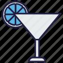 drink, food, glass, lemonade, orange juice, soft drink icon