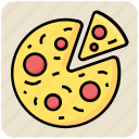fast food, food, italian, meal, pizza