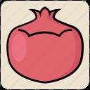 food, fruit, garnet, granate, organic, pomegranate