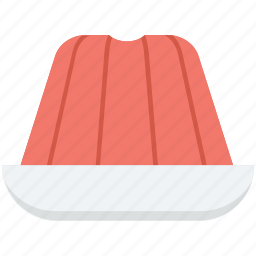 aspic, cake, food, jelly, wobbly jelly icon