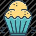 cake, cookies, cupcake, donut, muffins