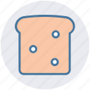 bread, breakfast, cooking, food, sandwich, toast icon