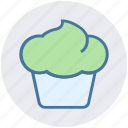 cake cone, cold, cone, food, ice cone, ice cream icon