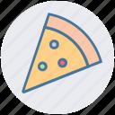 fast food, food, italian, pizza, pizza slice, slice icon