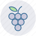 berries, food, fruit, fruits, grape, slot icon