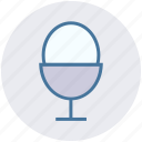 boiled, egg, egg cup, egg holder, egg server, egg storage icon