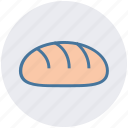 bread, breakfast, dinner, food, restaurant, sandwich icon