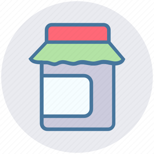 box, eat, food, food package, meal, meat icon