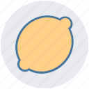 citrus, food, fruit, garnish, lemon, organic icon