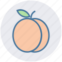 apricot, food, fruit, juicy, plum, prune icon