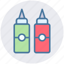 bottle, culinary, ketchup, mustard, sauce, tomato ketchup icon