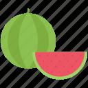 cooking, food, fruit, shop, supermarket, watermelon