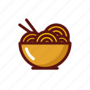 chinese, cooking, food, junk, noodle, restaurant icon