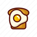 bakery, bread, breakfast, cooking, food, restaurant, toast icon