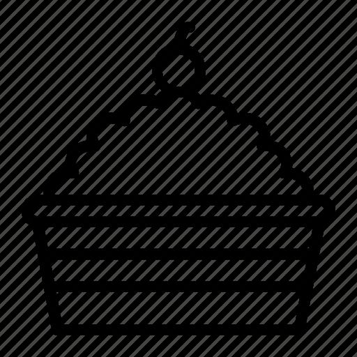 cake, food, pie, tart icon