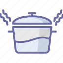 cooking, cooking pot, cookware, food preparation icon