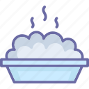 food, food bowl, hot food, meal icon