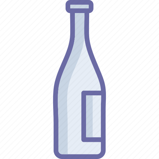 alcohol, beer, bottle, champagne bottle icon