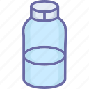 bottle, liquid food, liquor, milk bottle icon