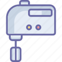 appliance, beater machine, egg beater, food mixer icon