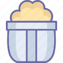 frozen dessert, ice cream, ice cream cup, sweet food icon
