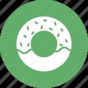 bakery food, confectionery, donut, doughnut icon