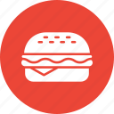 burger, fast food, food, hamburger icon