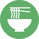 chopsticks, eating utensil, kitchen utensil, noodles icon