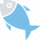 fish, fish skeleton, food, healthy food icon