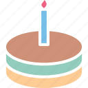 bakery food, cake, dessert, food icon