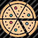 fast food, food, italian food, junk food icon