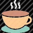 coffee, hot tea, tea, tea cup icon