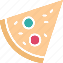 fast food, food, italian food, pizza icon