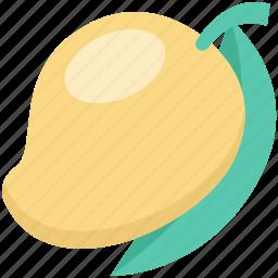fruit, juicy fruit, mango, nutrition, stone fruit icon