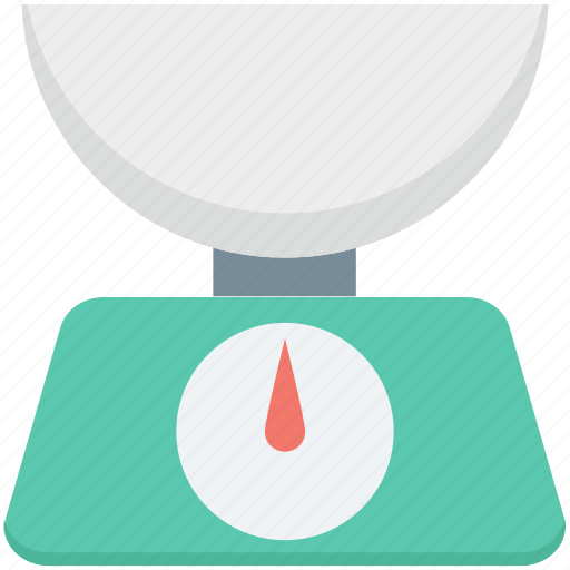electronic scale, food scale, kitchen gadget, kitchen scale, weight scale icon
