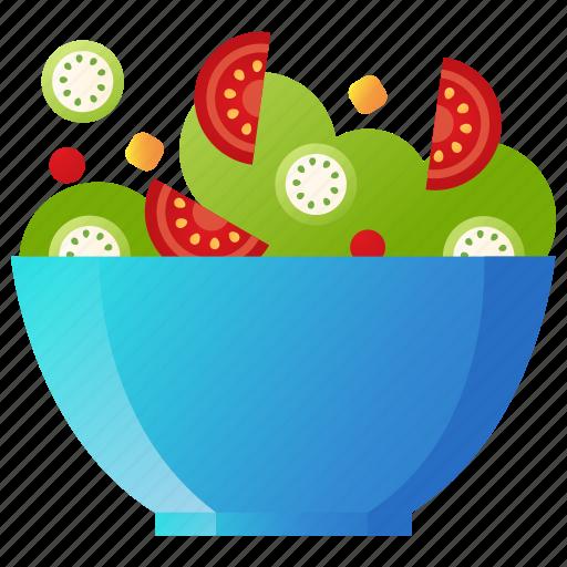 Cooking, food, healthy, restaurant, salad, vegetable, vegetarian icon - Download on Iconfinder