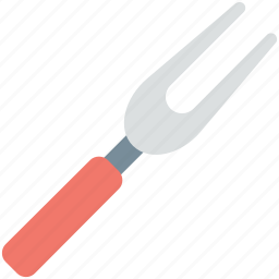 barbecue fork, barbecue tool, cutlery, eating, grill tool icon