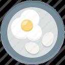 breakfast, egg, food, fried egg, protein