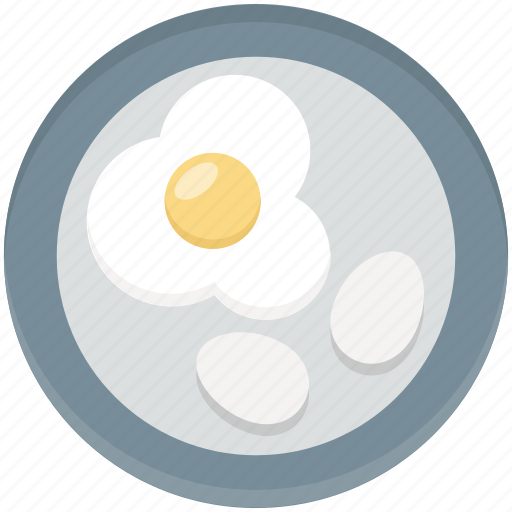 breakfast, egg, food, fried egg, protein icon