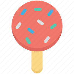 confectionery, lollipop, lolly, lolly stick, sweet snack icon