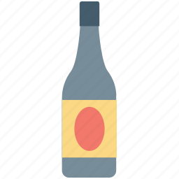 alcohol, beer, bottle, champagne bottle, wine bottle icon