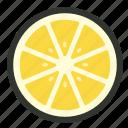 citrus, food, fruit, half, lemon, lime, slice
