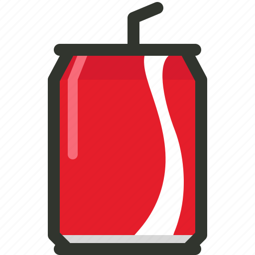 Food, coke, drink, beer, beverage, can, soda icon