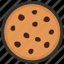 biscuit, chip, chocolate, cookie, cracker, food, snack