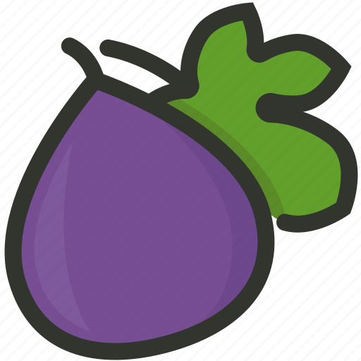 Food, healthy, fruit, fig, juicy icon